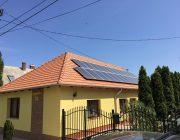 Balatonkenes, Veszprém megye, 10kW napelem rendszer