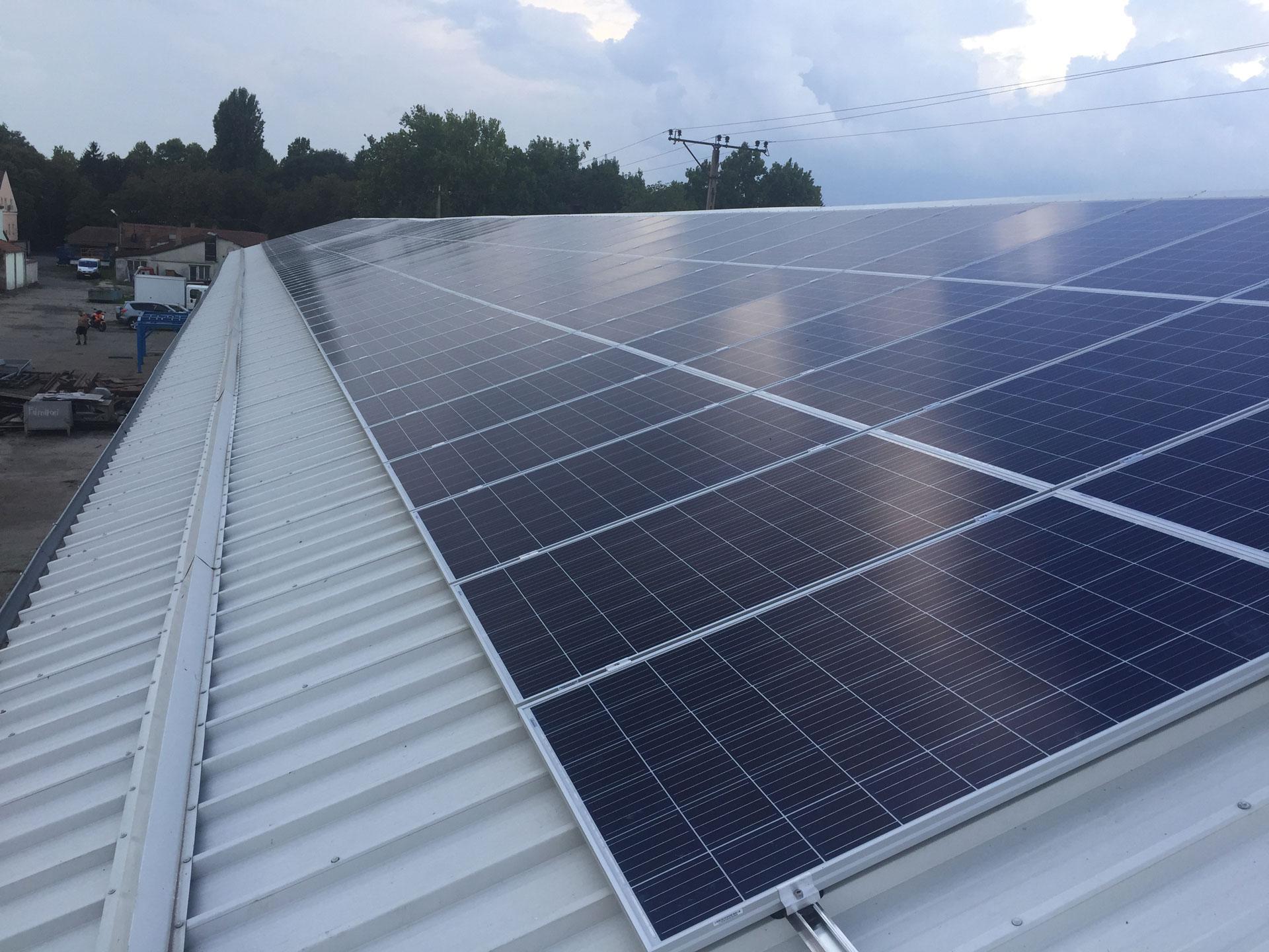 50kW napelem rendszer Gyula, napelem cégeknek