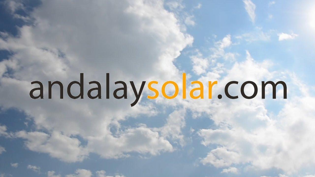 Andalay Solar napelem.