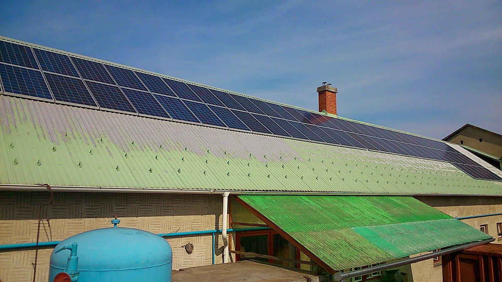 bekes megye napelem rendszer gyomaendrod napkollektor napelemek