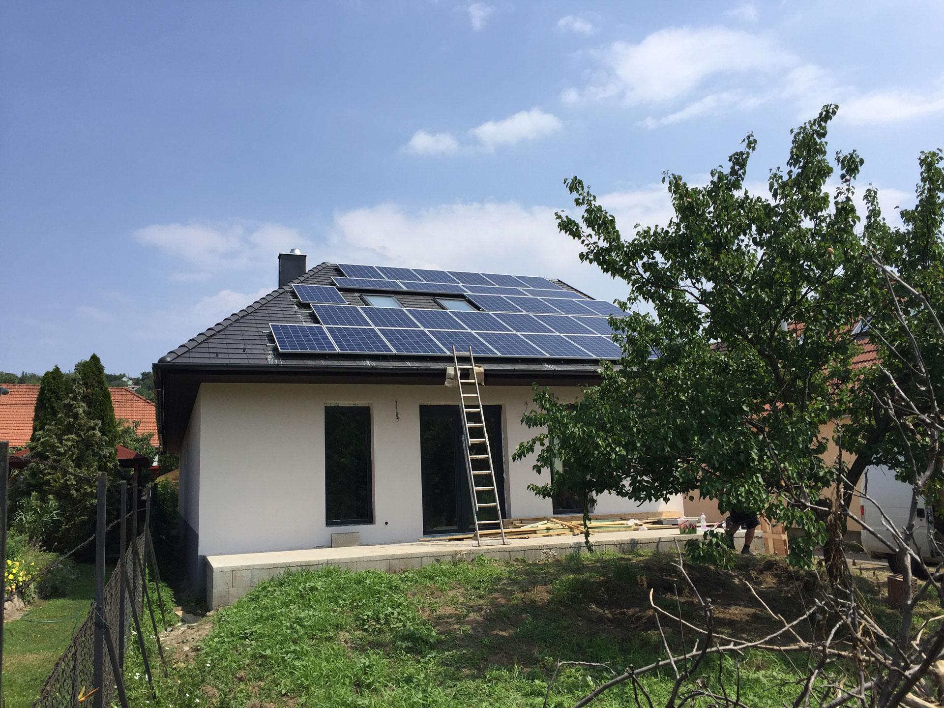 10kW napelem rendszer Budapest, Pest megye
