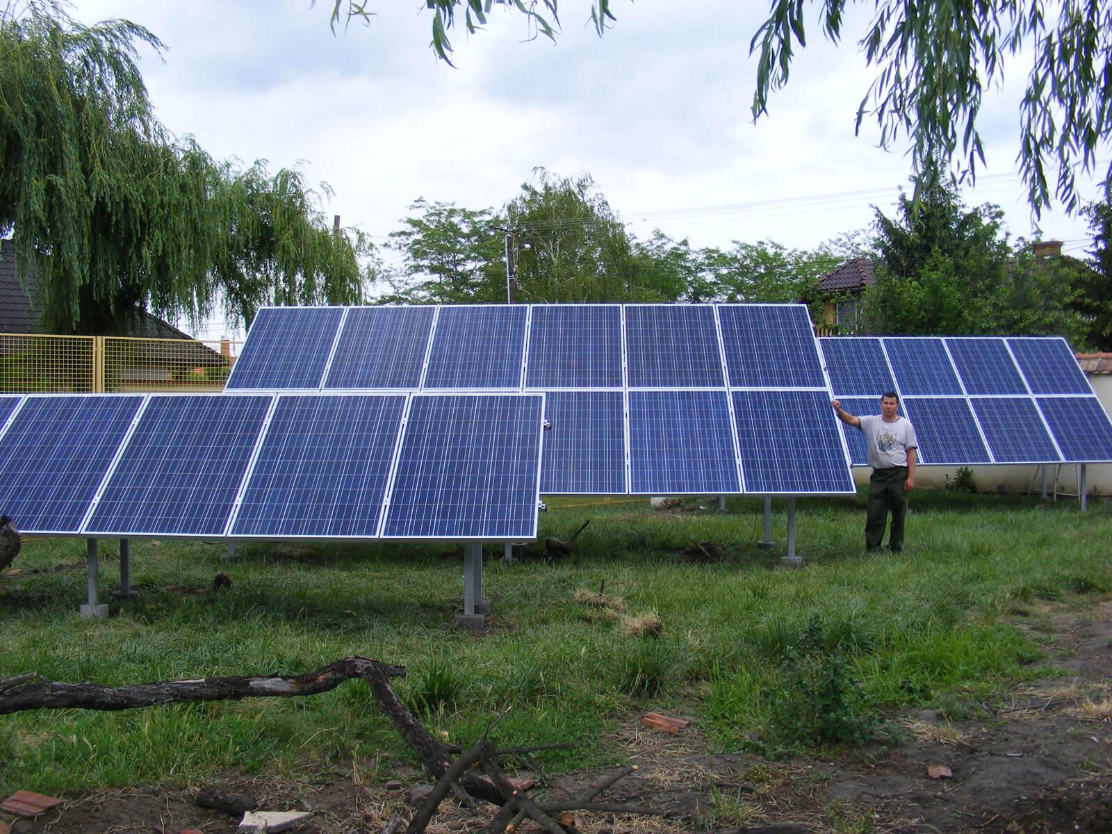 Napelem rendszer forgalmazó cég Eger, Heves megye napelem kivitelező, napkollektor