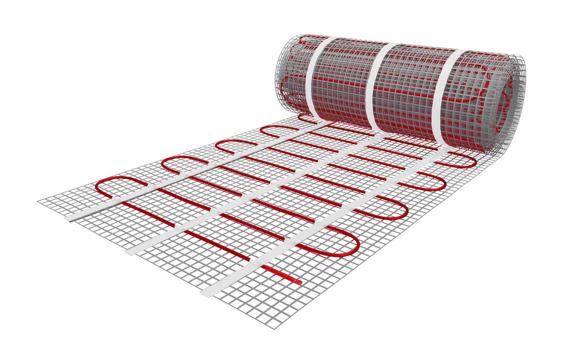 Az elektromos padlófűtés és az elektromos fűtőszőnyeg a modern elektromos fűtési rendszerek.