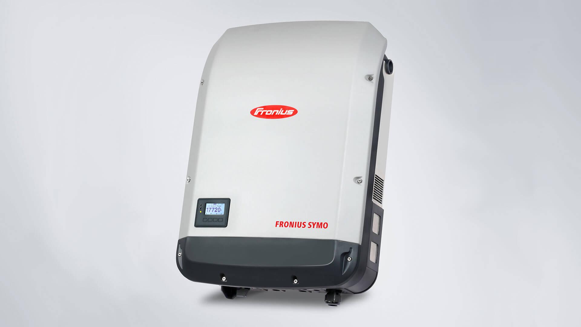Fronius gyártmányú napelem inverter
