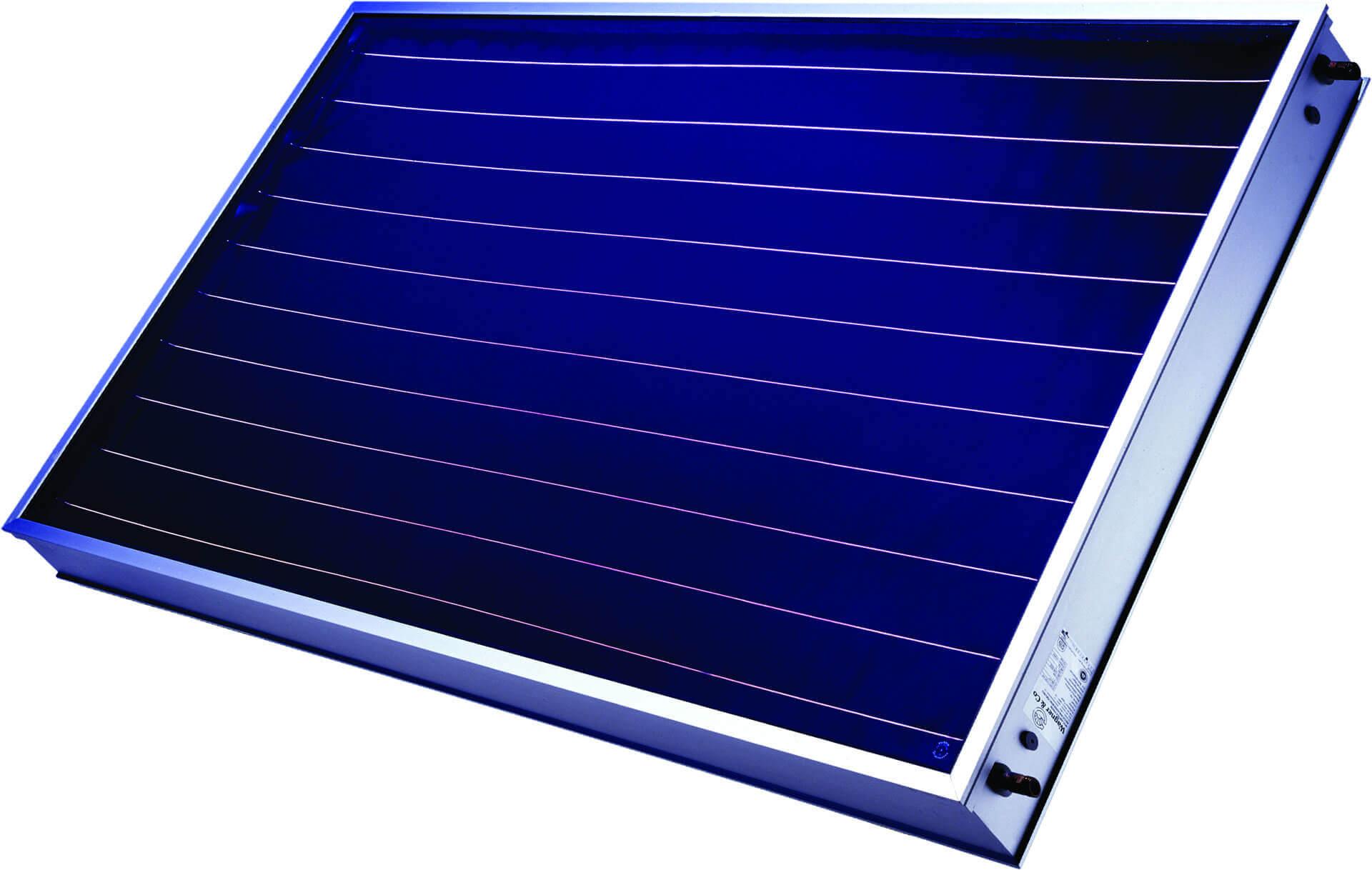 Napkollektorok két fajtája, légkollektor és a síkkollektor/vákuumcsöves napkollektor