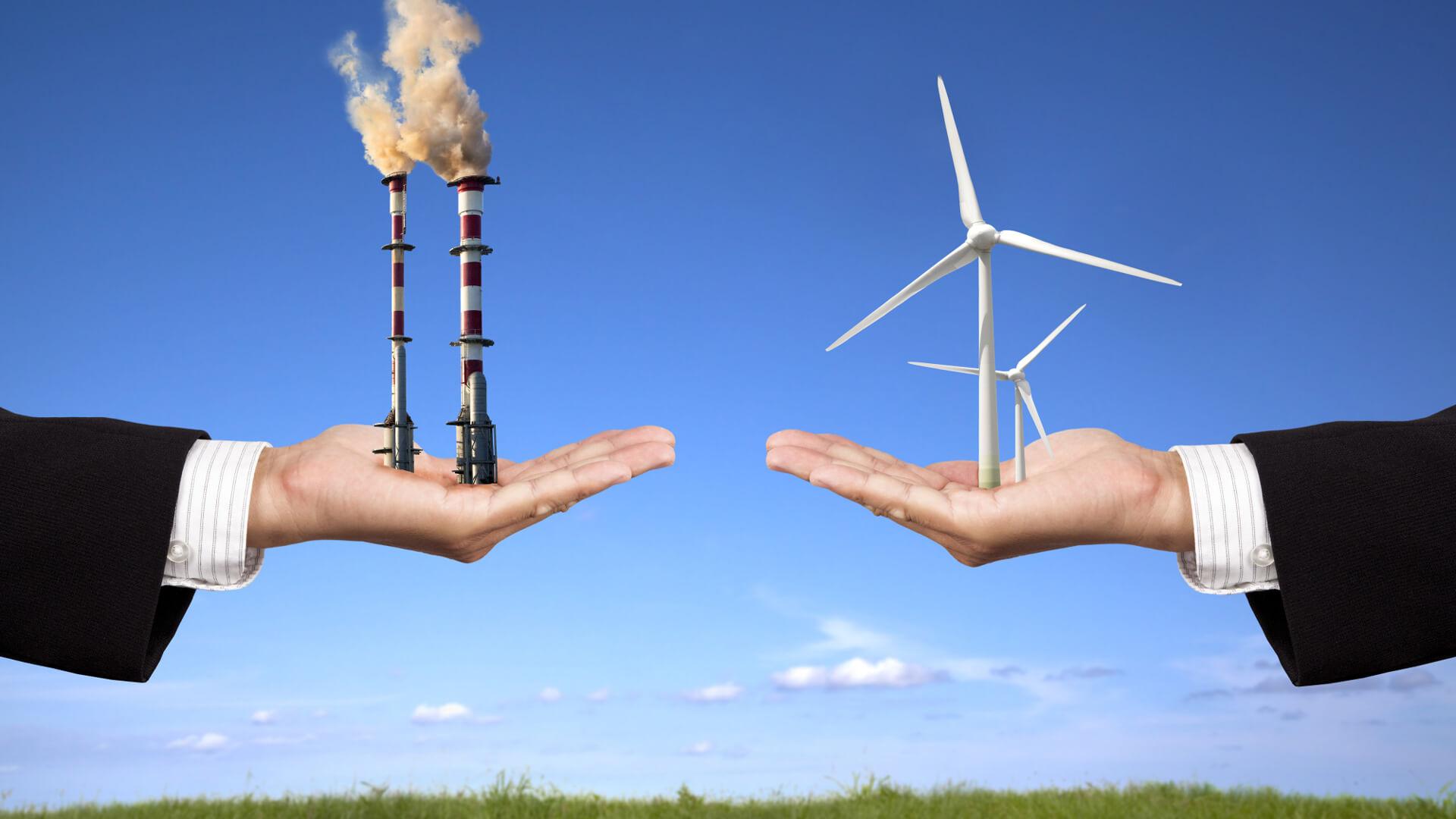 Megújuló energiaforrások Magyarországon és megújuló energiaforrások a világban.