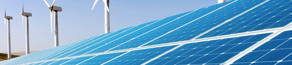 Megújuló energiaforrások a napelem és a szélturbina