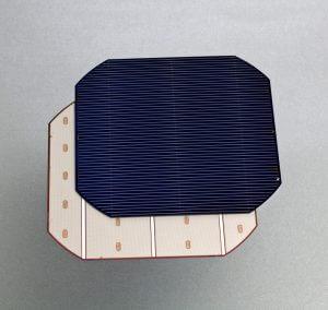 monokristályos napelem cellák