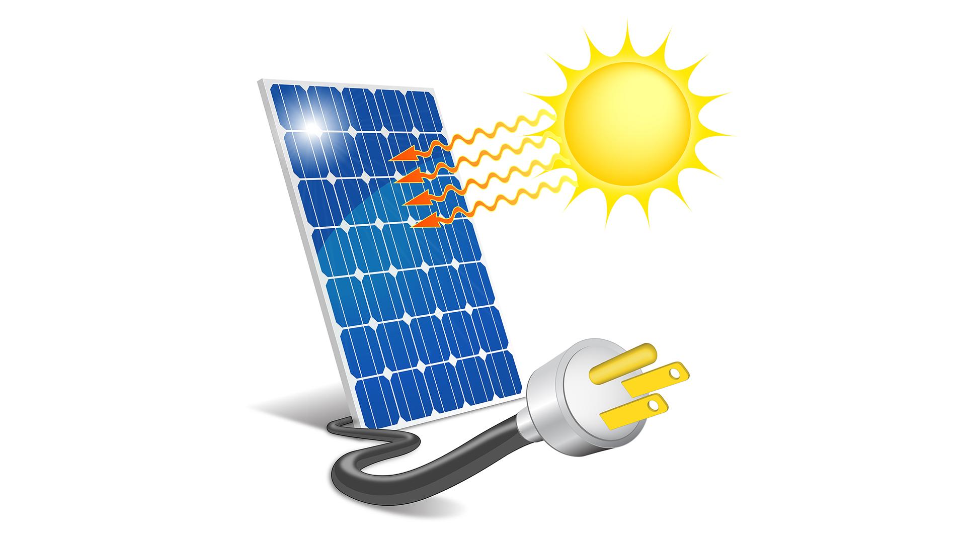 Napelem működése és a napelem fajták ismertetése.