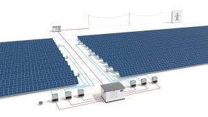 Ipari létesítmény napelemes rendszer méretezése.