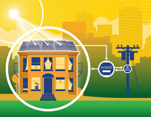 Napelem előnye a városi áramtermelés is