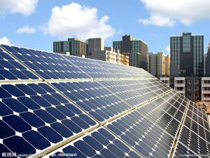Napelemes rendszerek monokristályos napelem panelokkal.