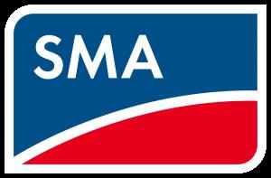 SMA napelemes inverterek logó.