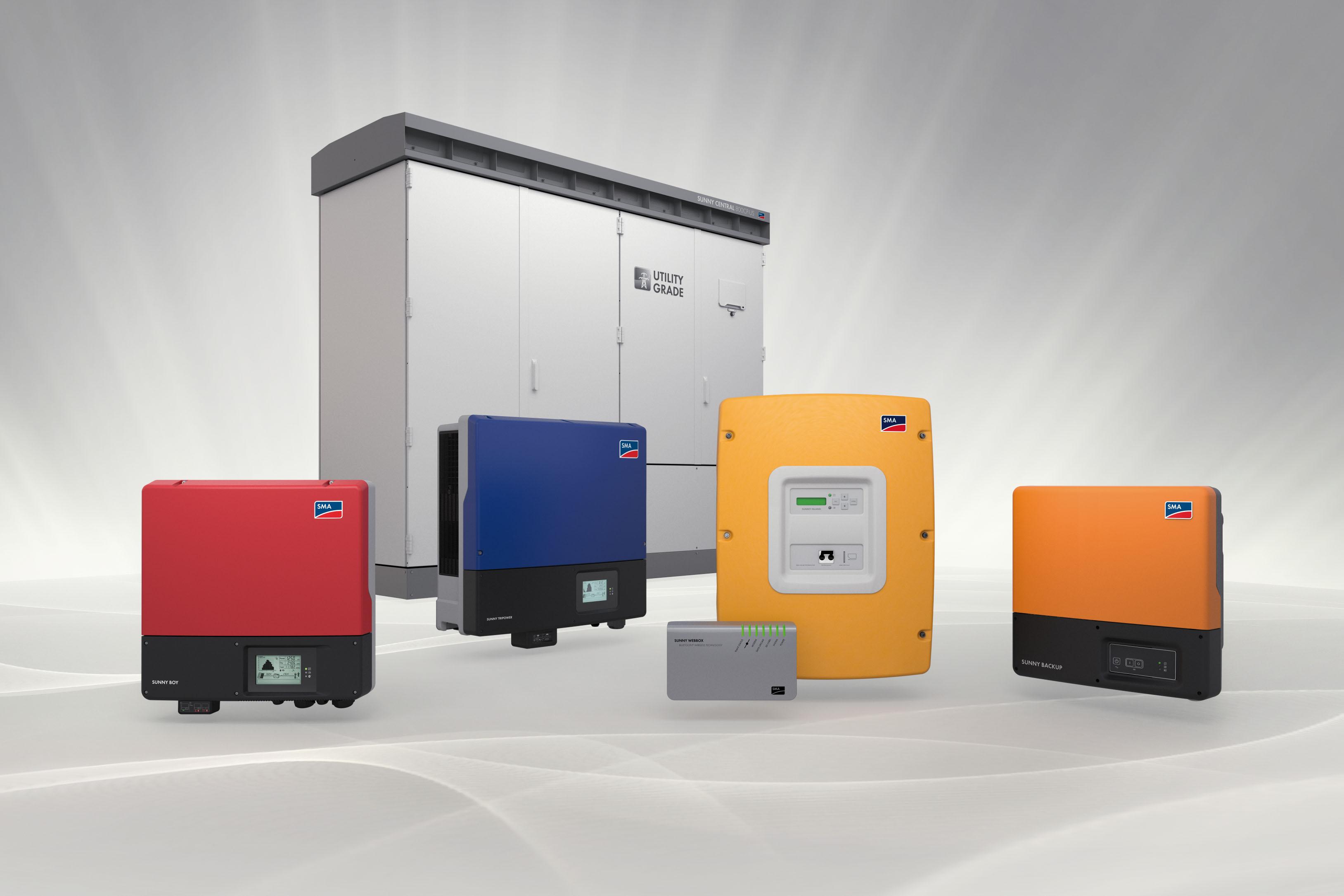 Napelemes inverterek gyártója és forgalmazója, az SMA.