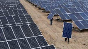 Fejlődik a napenergia