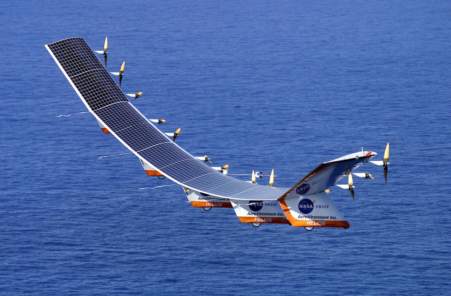 Nasa Helios Napelem repülő, érdekes napelem tények