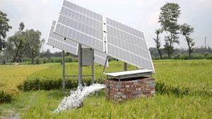 Öntözés napelemmel