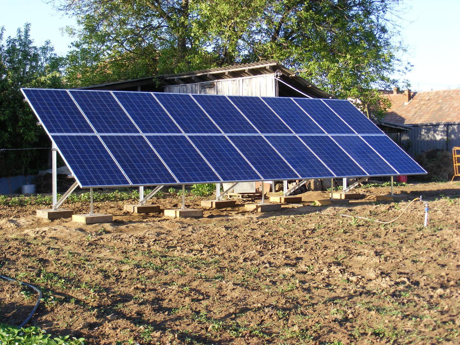Nógrád megye napelem rendszer, Őrhalom napelemek