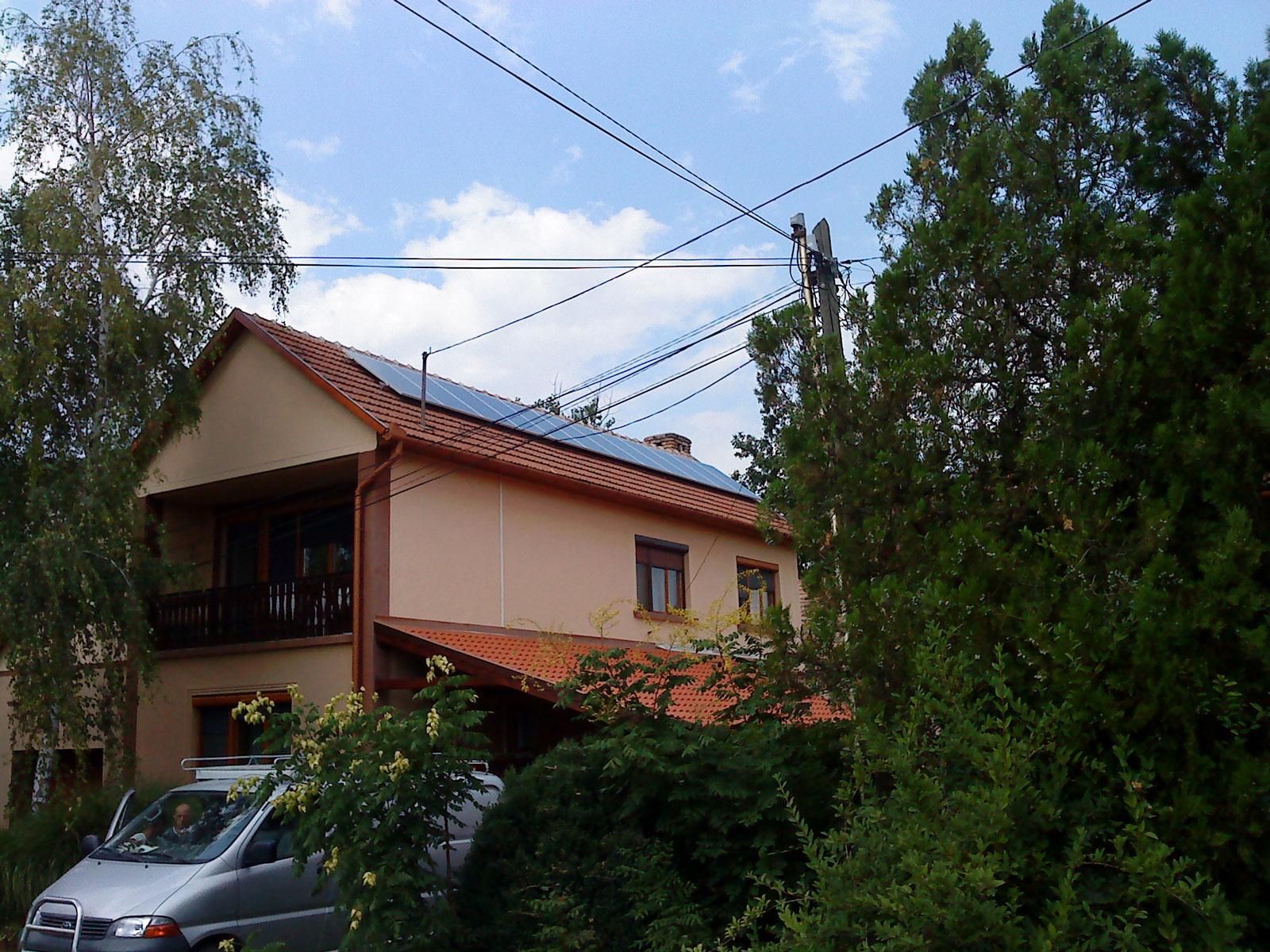 Sándorfalva, Nógrád megye napelem rendszer, napelemek