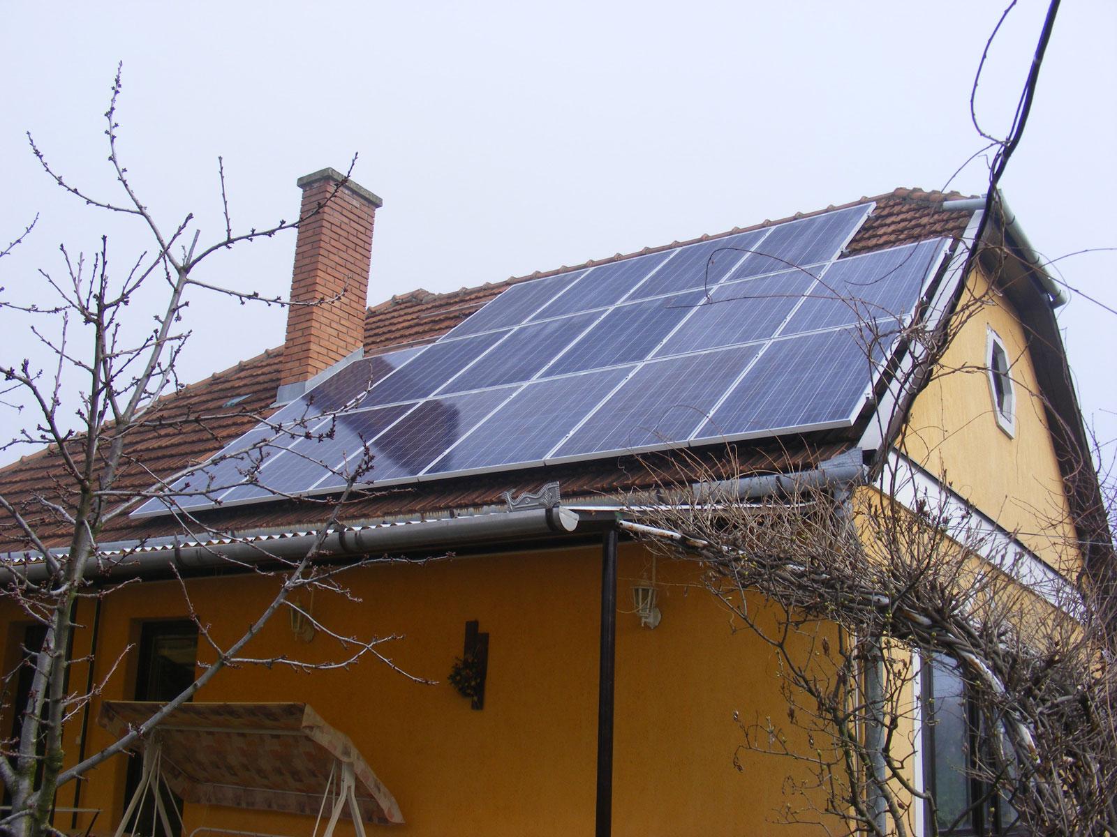 Napelem Békés megye, Sarkad 4kW napelem rendszer