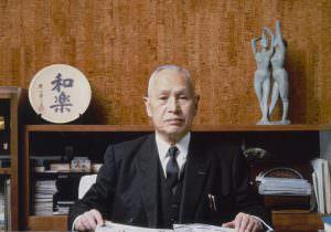 A SHARP alapítója, Tokuji Hayakawa.