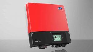SMA gyártmányú napelem inverter