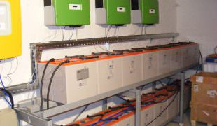 Somogyvámos, Somogy megye szigetüzemű napelem rendszer 16kW