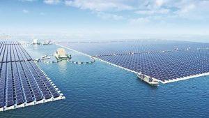Úszó napelem naperőmű